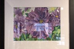 "Lisa Johnson ""Purple Dahlia"""