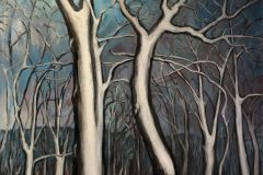 "Mary Vollero ""Two Trees at Black Moshannon"""