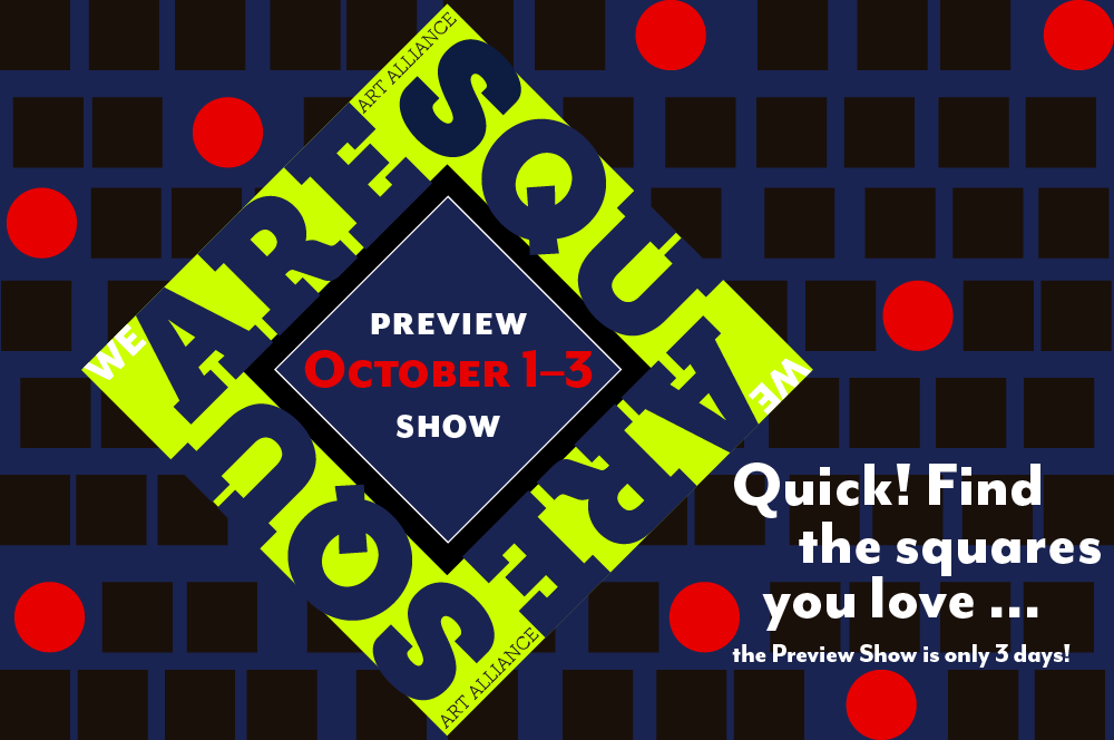 SQUARE Show Preview STARTS TODAY (Friday, October 1)!